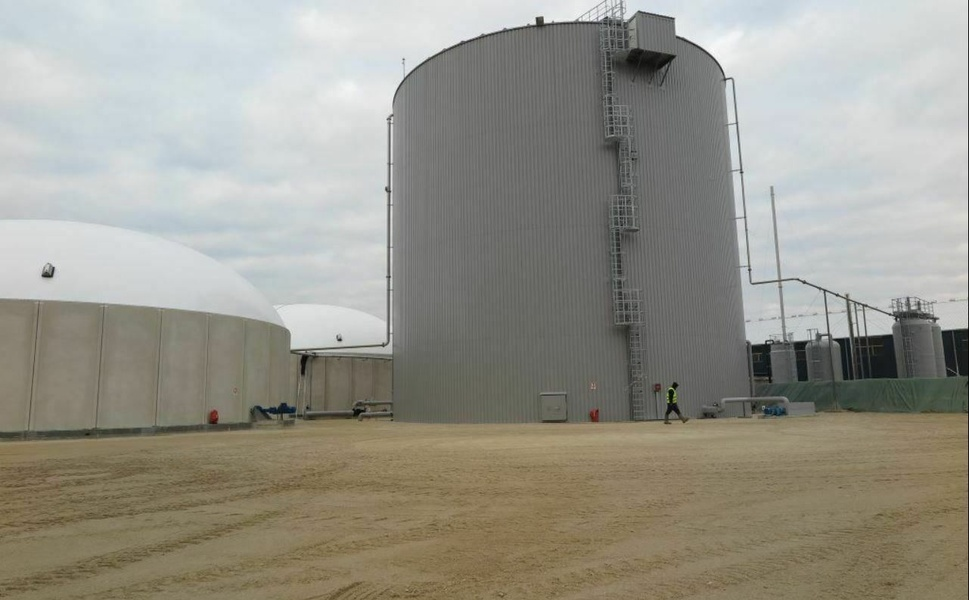 Usine Biogaz Fonroche