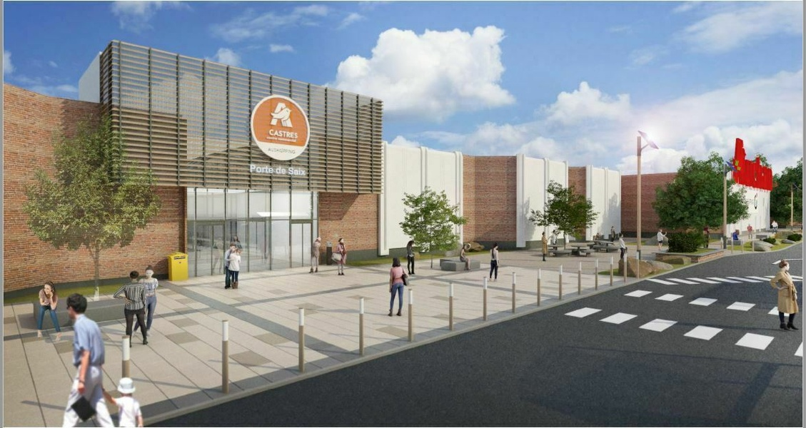 Centre commercial Auchan Castres (81)