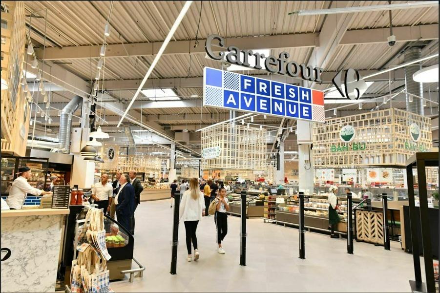 Centre commercial Carrefour Dijon Toison d'or (21)